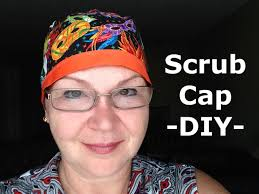 Scrub Cap Pattern Amazing Scrub Cap Pattern And How To DIY Tutorial YouTube