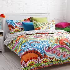 unique colorful bed sets