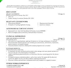 Resume Objective Section Sample Examples Of Nursing Skills For Resume Emergency Nursing Skills ...