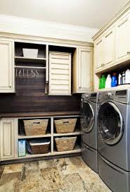 Laundry room design and storage ideas