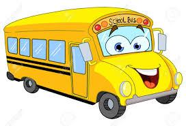 Autobus Scolaire De Dessin Anim Clip Art Libres De Droits