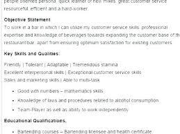 Sample Resume Bartender Resume Sample Bartender Resume Sample Some ...