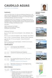 Bridge Design Engineer Sample Resume 19 Structural Engineer Resume Samples