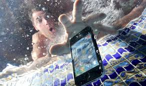Image result for phone in water