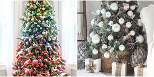 unique christmas tree decorations 2017 ideas