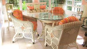 Florida room furniture Style Sunbrella Dolce Mango Outdoor Wicker Cushions Lemonaidappco Decorating Ideas For Florida Room Cushion Source Blog