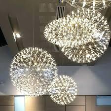 brushed nickel crystal chandelier wonderful