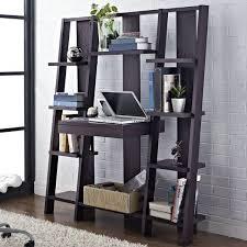 ladder desk bookcase espresso ameriwood home