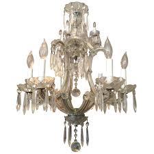 viyet designer furniture lighting antique 19th century venetian crystal chandelier