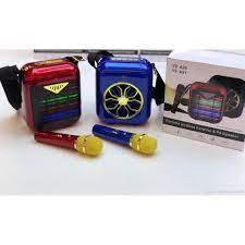 Loa Bluetooth Karaoke YS A20 Kèm Micro Không Dây Âm Thanh Tuyệt Hay