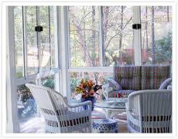 Image Indoor Sunroom With Wicker Furniture Patio Enclosures Repairing Wicker Furniture