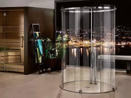 Bathroom Remodeling:Modern Round Glass Shower Enclosures Round Glass Shower  Enclosures