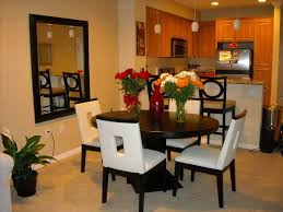 dining furniture for apartments. fun apartment dining room, we continued the theme of cream and dark espresso wood. furniture for apartments r
