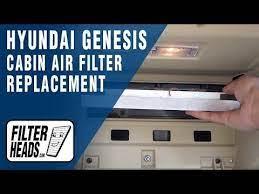 Cabin Air Filter Replacement 2010 Hyundai Genesis Cabin Air Filter Hyundai Genesis Hyundai