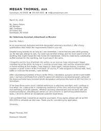 Cover Letter For A Veterinary Assistant Ghostwriting Services