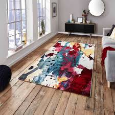 sunrise 9349a multi coloured designer rug by think rugs 1