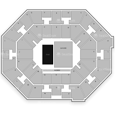 Mcnease Convention Center Seating Chart Uno Lakefront Arena Seating Chart Map Seatgeek