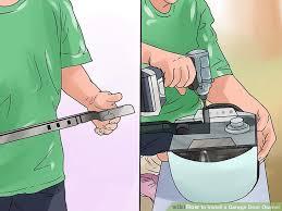 image titled install a garage door opener step 6