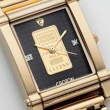 croton gold watches for mens best watchess 2017 croton curren c 27 3x41 8mm rectangular case gold ingot diamond