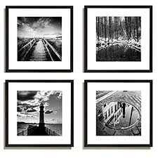 black and white photography framed wall art