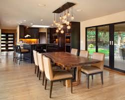 light kitchen table. inspiration for a contemporary light wood floor kitchendining room combo remodel in portland with kitchen table houzz