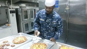 Navy Cook Navy Chef Has Captive Clientele
