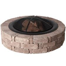 What Do I Need To Install A Fresco Brand Fire Pit  The Home Home Depot Fire Pit
