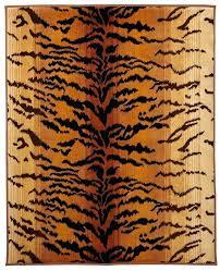 tiger print rug animal print throw rugs
