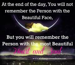 Beauty Comes From The Heart Quotes Best Of Beautiful Heart And Soul Wisdom Quotes Stories