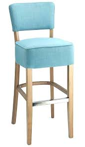 blue bar stools teal fabric seat kitchen breakfast stool wooden frame fully assembled navy in mid c20