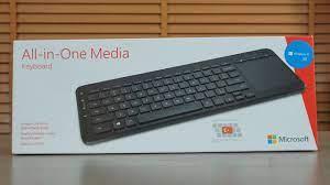 Microsoft All in One Media klavye incelemesi - TeknoSeyir