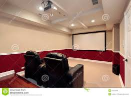 theater room sofas media room furniture theater. Download Media Room With Home Theater Chairs Stock Photo - Image Of Furniture, Couch: Comp Sofas Furniture R