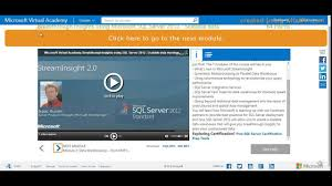 Microsoft Free Certification Get Your Microsoft Virtual Academy Certification For Free Youtube