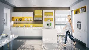 Yellow Kitchen Backsplash 20 Sleek Kitchen Designs With A Beautiful Simplicity
