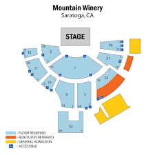 Mountain Winery Seating Chart Mountain Winery Tickets Mountain Winery Events Concerts
