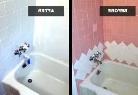 reglazed bathroom tile maryl bathtub reglazing cost