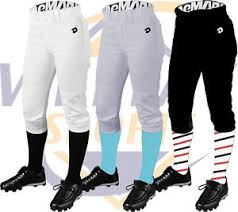 Details About Demarini Deluxe Adult Womens Fastpitch Softball Pants Wtc7605 White Black Grey