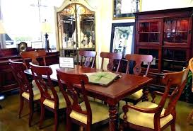 ethan allen round table dining table and chairs used dining room sets used unique dining room