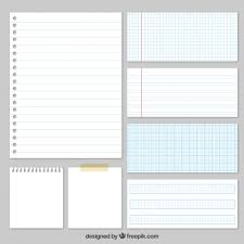 Variety Of Papers Vector Free Download