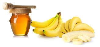 banaan honing masker