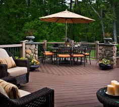 Lawn Garden Nice Looking Outdoor Deck Ideas For Creative