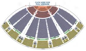 La Live Seating Chart Seating Chart Bellco Theatre