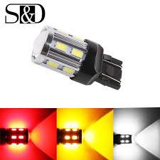 Security Lights For Cars S D Car Lights 7443 7440 3157 3156 1156 1157 Ba15s Bay15d Led Bulbs White W21 5w High Power Brake Turn Signal Auto Lamps 12v Led Lights For Cars Led