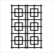 Garten Im Quadrat Wandspalier Modernes Rankgitter Marrakech Metall