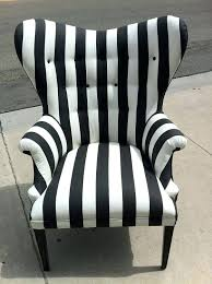 black and white striped chair sashes ikea
