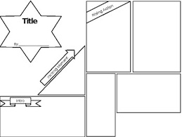 Story Map Template Story Plot Map Comic Strip Template By Avrielle Jones Tpt