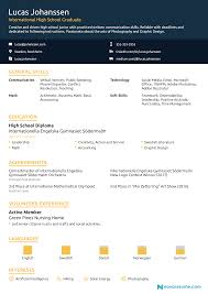 resume examples high school student basic high school resume template resumes perfect forts no