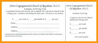 Pledge Card Template For Fundraising Mamiihondenk Org