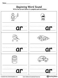 Phonics worksheets and online activities. Beginning Word Sound Ar Words Word Family Worksheets Kindergarten Phonics Worksheets English Worksheets For Kids