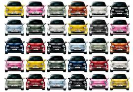 Fiat 500 Colour Chart Millionth Fiat 500 Rolls Off The Production Line